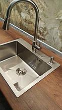 Кухонная мойка Germece HANDMADE 5843 HD-D001 стальная