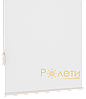 Ролета тканевая Е-Mini Камила Белый A601 / 1125 мм, фото 4