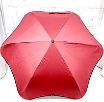 Складана парасоля механіка, бордовий, поліестр/карбон Арт.3193 RST (Китай) (Зонт жіночий, бордо, механіка, поліестер/карбон)