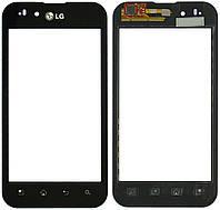 Сенсор (тачскрин) LG Optimus P970 Black