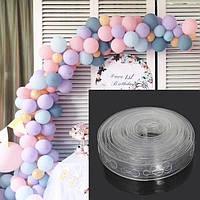 Пластиковая лента для крепления воздушных шаров 5 метров.
