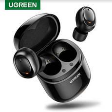 Беспроводные Bluetooth наушники 5.0 UGREEN CM338 TWS True Wireless Stereo Black, фото 3