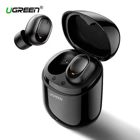 Бездротові Bluetooth-навушники 5.0 UGREEN CM338 TWS True Wireless Stereo, Black, фото 2