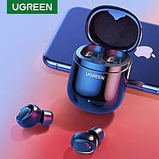 Беспроводные Bluetooth наушники 5.0 UGREEN CM338 TWS True Wireless Stereo Black, фото 2