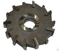 Фреза дисковая трехсторонняя ф 125х22х40 мм, z=10, со вставными твердосплавными ножами