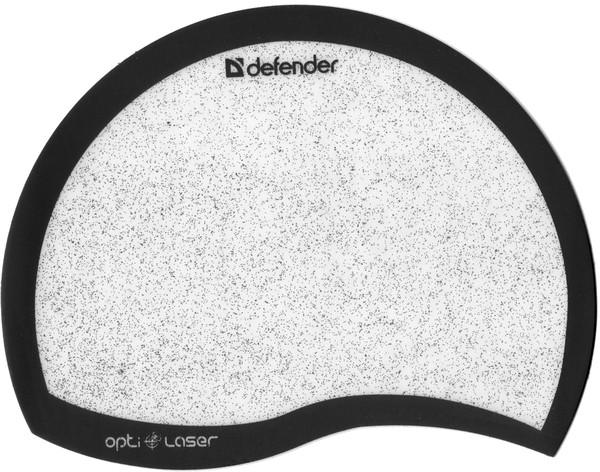 Коврик для мышки DEFENDER Ergo opti-laser Black пластиковый (черный)