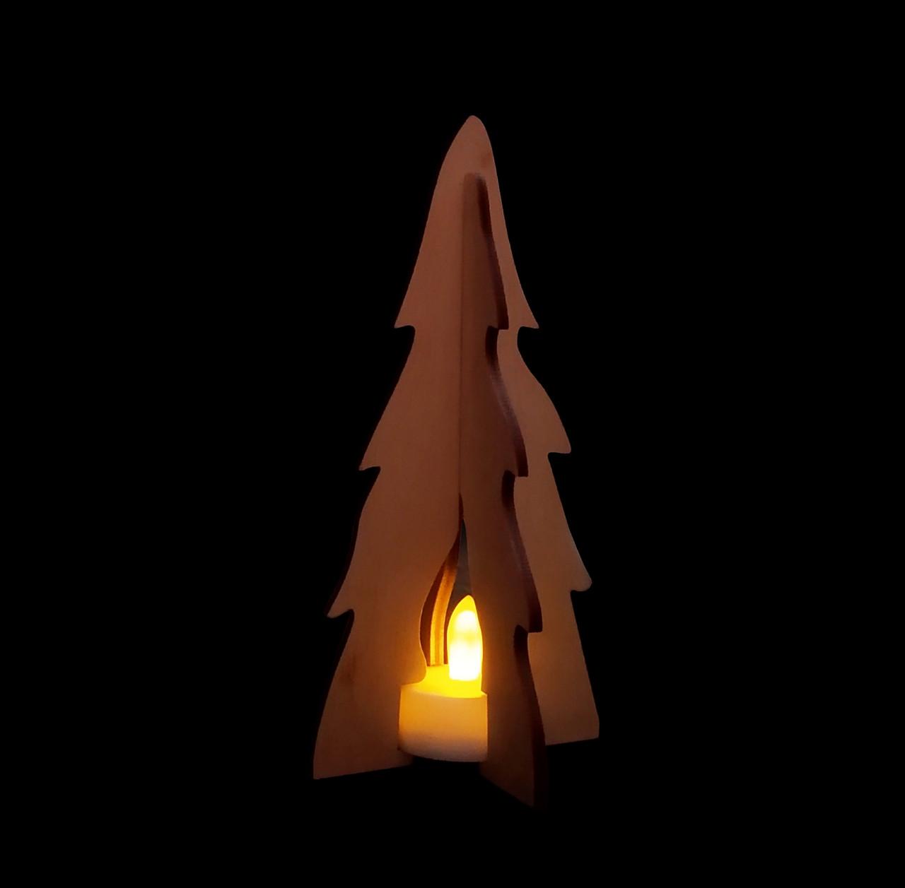 """Новорічна світлодіодна прикраса - ліхтарик """"Ялинка"""""""