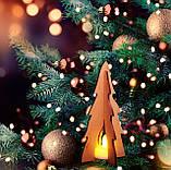 """Новорічна світлодіодна прикраса - ліхтарик """"Ялинка"""" , фото 3"""