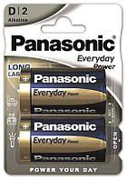 Батарейки Panasonic D (LR20) Everyday Power 2шт (LR20REE/2BR)