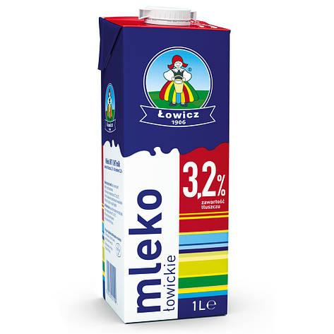 Молоко 3,2% LOWICZ Mleko 1 л, фото 2