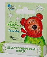 Pink Elephant детская гигиеническая помада для мальчиков Медвежонок Потап 3.6 г