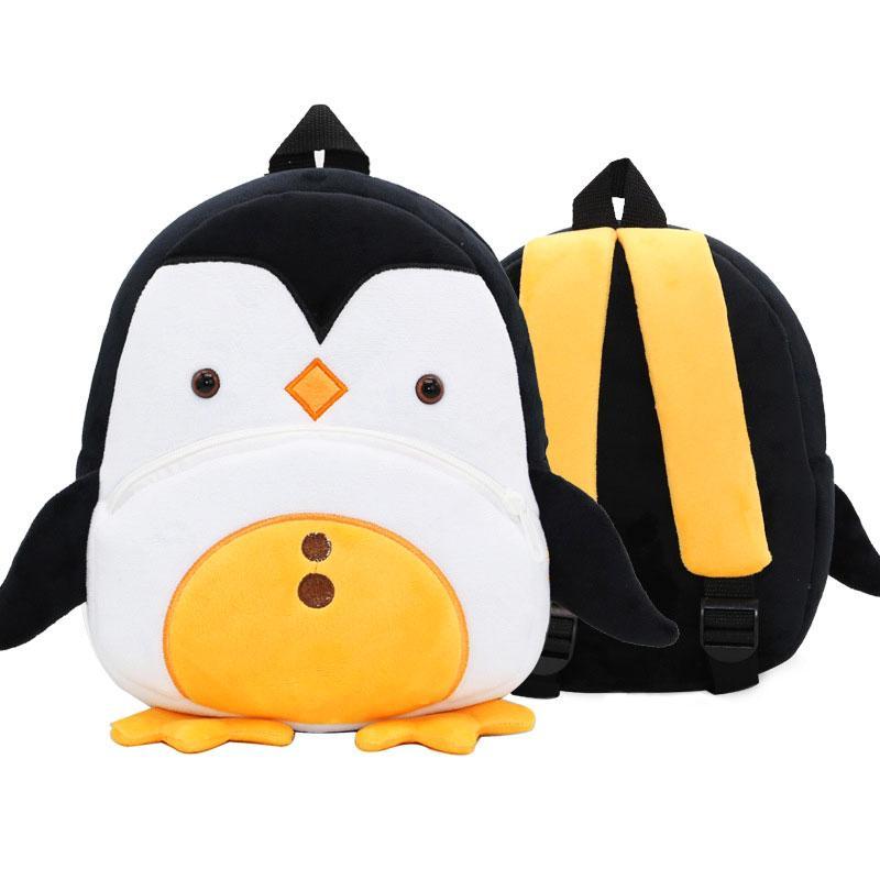 Рюкзак велюровый Пингвиненок