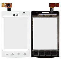 Сенсор (тачскрин) LG Optimus L1 2 E410 White