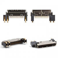 Разъем зарядки (гнездо) LG C1100 / C1150 / C1200 / C1400 / C2200 / F2200 / F2300 / F2400 / F2410 / F3000 / KG210 / KG220 / KG225 / M6100 / S3500 /