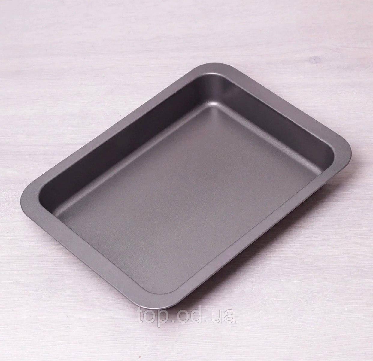 6010  Форма для запекания Kamille 36.5*27.5*4.5см из углеродистой стали