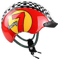 Велошлем Casco Mini 2 Lucky 7 red