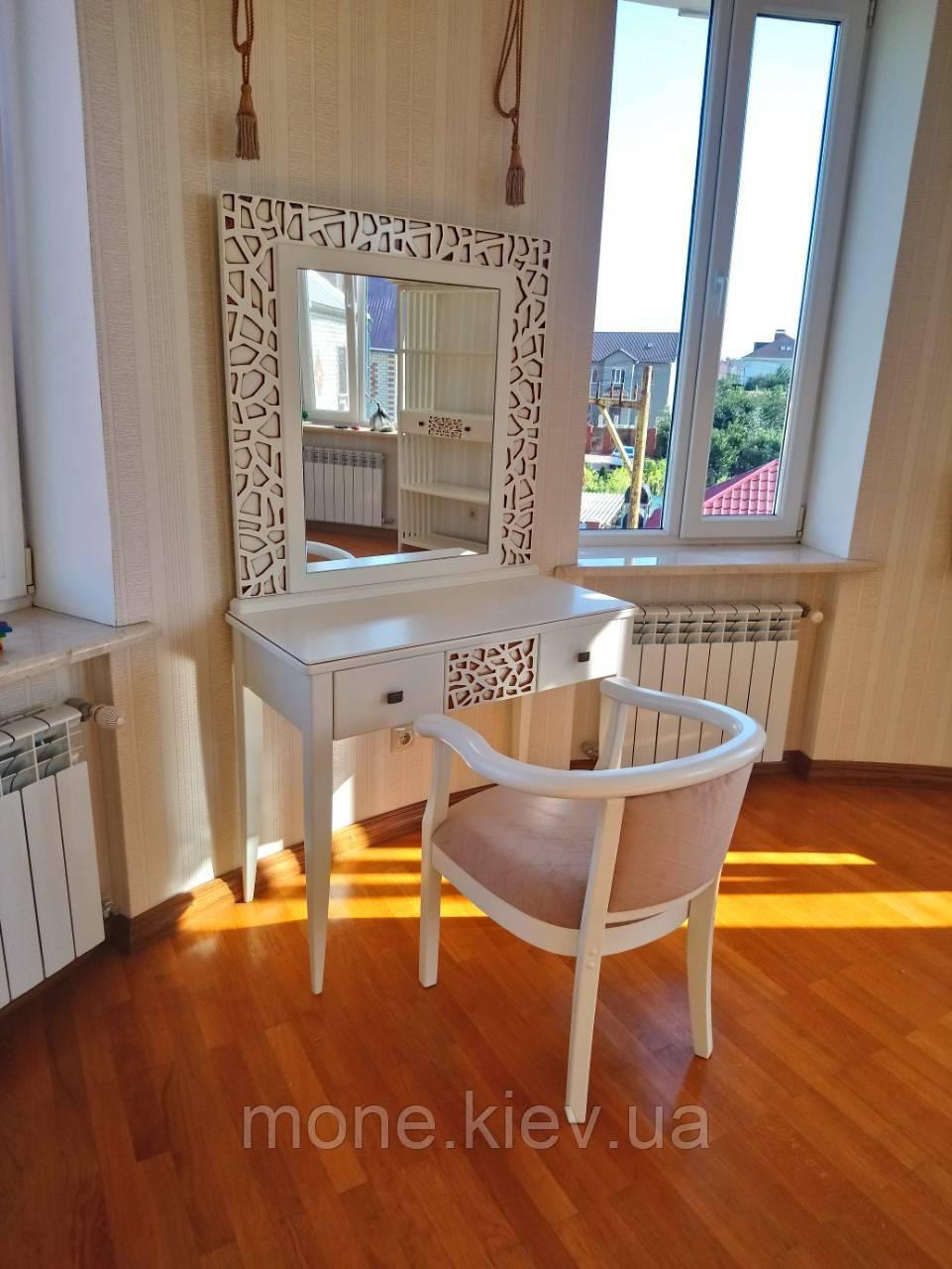 Туалетный стол с зеркалом Инес