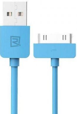 Кабель USB Remax Light Dock Cable Blue (RC-006i4)