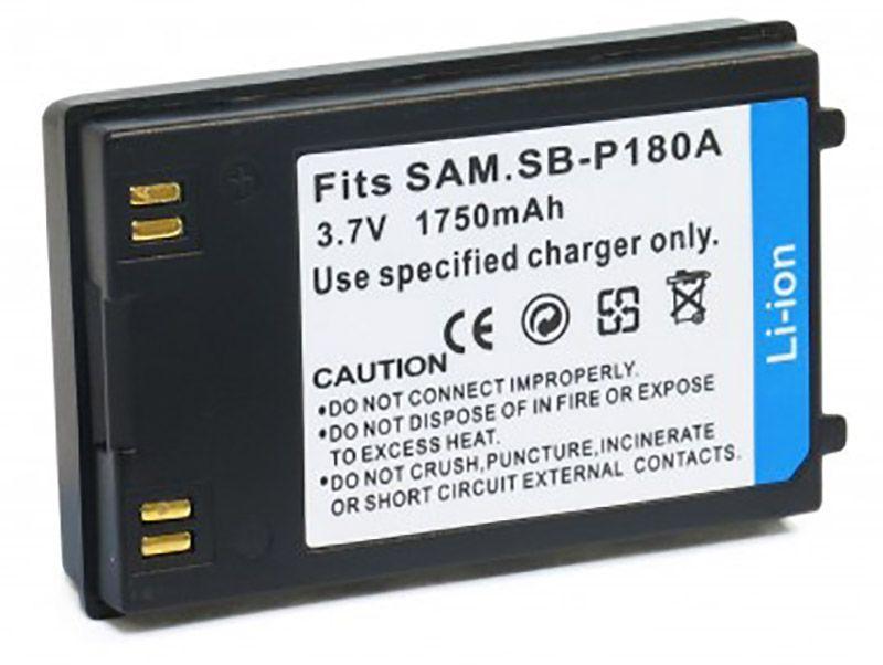 Аккумулятор для видеокамеры Samsung SB-P180A (1750 mAh) DV00DV1237 ExtraDigital
