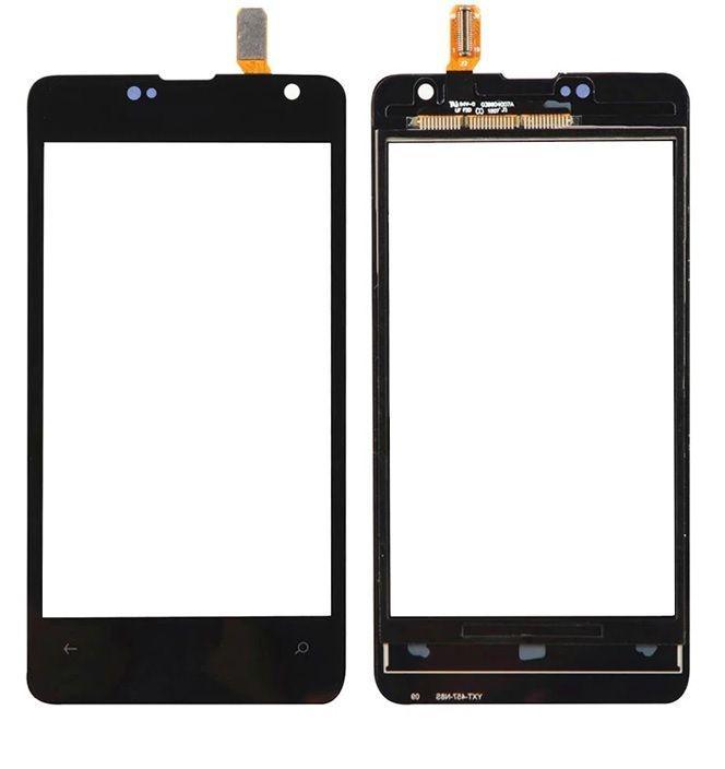 Сенсор (тачскрин) Microsoft Lumia 430 (original) Black
