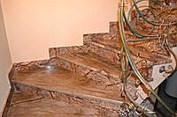 Мраморные ступени любой сложности