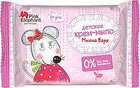 Pink Elephant детское крем-мыло для девочек Мышка Варя 90 г