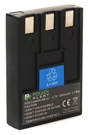 Аккумулятор для фотоаппарата Canon NB-3L (1000 mAh) DV00DV1005 PowerPlant