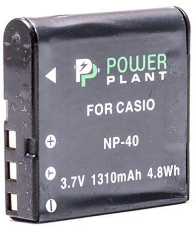 Аккумулятор для фотоаппарата Casio NP-40 (1310 mAh) DV00DV1044 PowerPlant
