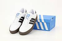 "Кроссовки мужские Adidas Samba  ""Белые"" р. 41-45, фото 1"