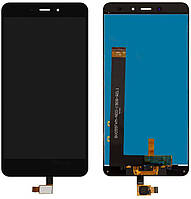 Дисплей (экран) для телефона Xiaomi Redmi Note 4 MediaTek + Touchscreen (original) Black