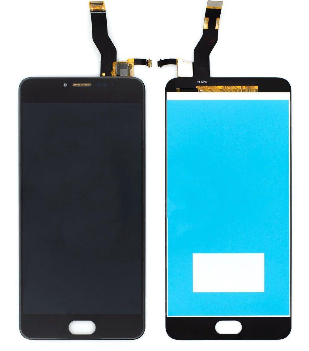 Дисплей (экран) для телефона Meizu M3 Note L681H + Touchscreen (original) Black
