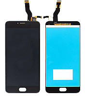 Дисплей (экран) для телефона Meizu M3 Note L681H + Touchscreen (original) Black, фото 1