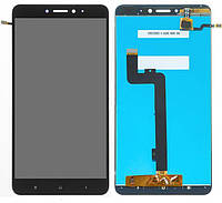Дисплей (экран) для телефона Xiaomi Mi Max 2 + Touchscreen (copy) Black