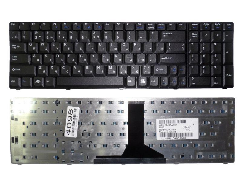 Клавиатура для ноутбука Acer eMachines G520 / AEZY5700210 Original