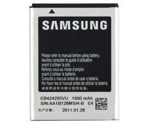Аккумулятор Samsung S3850 Corby 2 / EB424255V (1000 mAh) 12 мес. гарантии