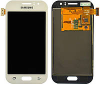Дисплей Samsung Galaxy J1 Ace J110 с тачскрином, (OLED), White