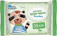 Pink Elephant детское крем-мыло для мальчиков Енот Даня 90 г