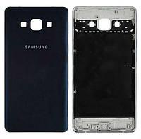 Задняя крышка корпуса Samsung Galaxy A7 A700F / A700H Blue