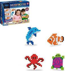 Детская развивающая мозаика-аквамозаика Synergy Trading Mosaicpix 55001, 780 деталей морские животные