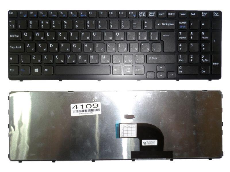 Клавиатура для ноутбука Sony SVE15 SVE17 149180791RU черная