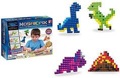 Детская развивающая мозаика-аквамозаика Synergy Trading Mosaicpix 55002, 780 деталей динозавры