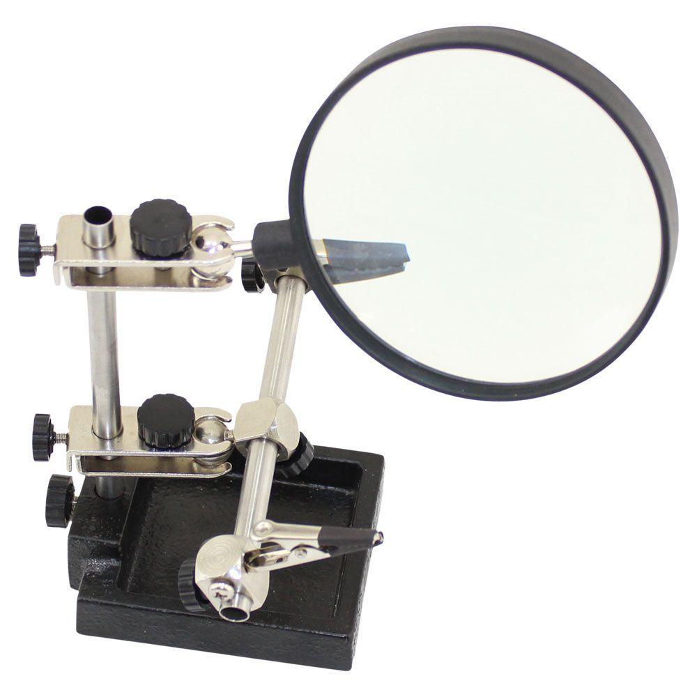 Держатель плат с увеличительным стеклом Zhongdi Industry ZD-10H 3X
