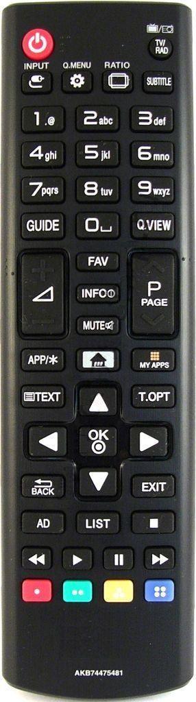 Пульт для телевизора LG 43LF590V (276853)