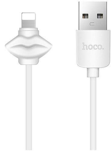 Кабель USB Hoco X17 Showy Lightning White