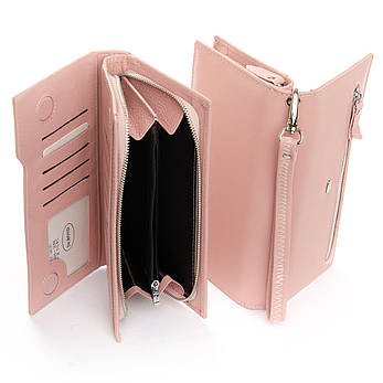 Кошелек Classic кожа DR. BOND WMB-2M pink, фото 2
