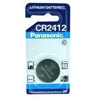 Батарейки Panasonic CR2412 1шт (Для карточки Lexus)