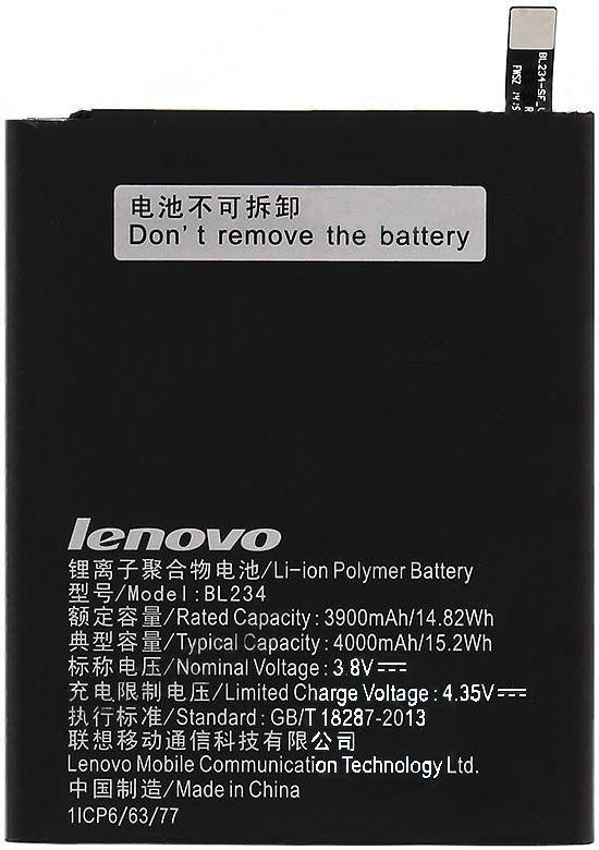 Аккумулятор Lenovo P70 / BL234 (4000 mAh) Original