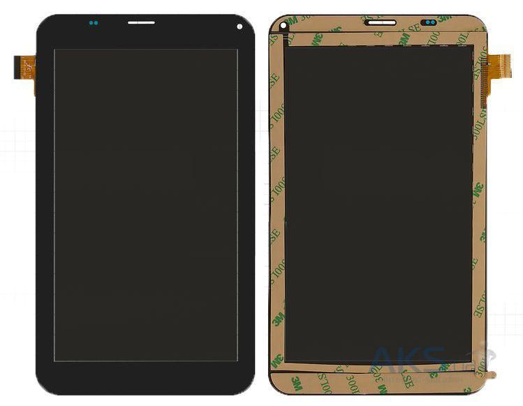 Сенсор (тачскрин) Cube U51GT Talk7 (108x188, 39pin, #NJG070123ACG0B-V3) Black