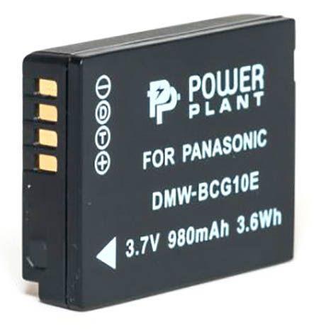 Аккумулятор для фотоаппарата Panasonic DMW-BCG10 (980 mAh) DV00DV1253 PowerPlant
