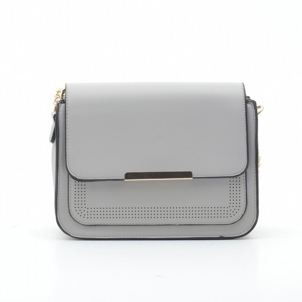 Жіноча сумка через плече сіра H3956 сіра